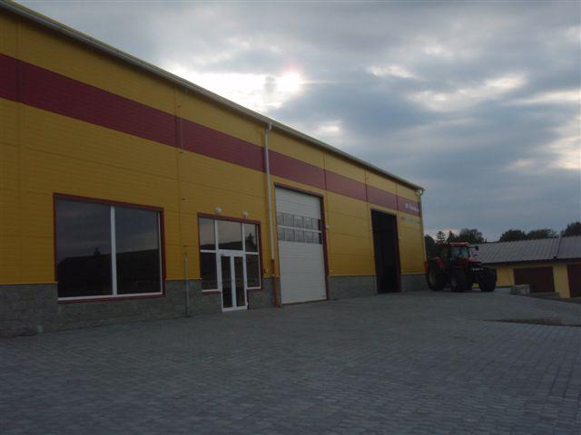 Prodejní pavilon BV Technika,a.s. vč.výstavních ploch v ostravě Polance