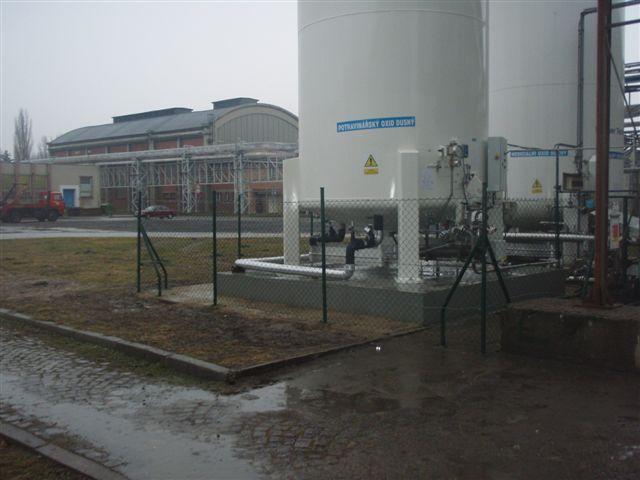 Technologický celek Linde a.s. v Ostravě